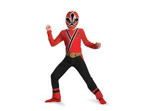 Samurai Red Ranger Samurai Classic Toddler/Child Costume Toddler 3T 4T