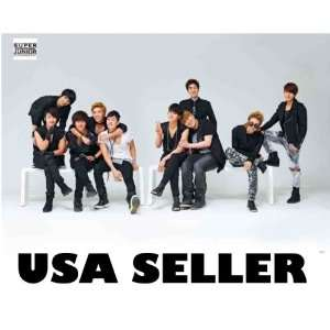 Super Junior Bonamana horiz white POSTER 34 x 23.5 Korean
