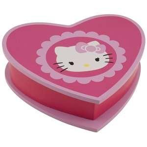 Hello Kitty Heart Shaped Jewelry Box, Pink Jewelry