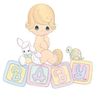 PRECIOUS MOMENTS WALL BORDER PREPASTED BABY NURSERY RM