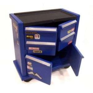 NEW KIDS RACE CAR BEDROOM TOOL BOX DRESSER NIGHT STAND