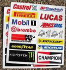 CAFE RACER 59 CLUB GOLD logo set stickers decals items in