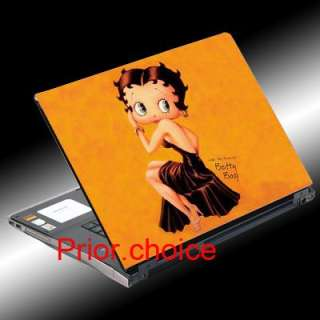BETTY BOOP LAPTOP COVER NOTEBOOK SKIN STICKER DECAL ART