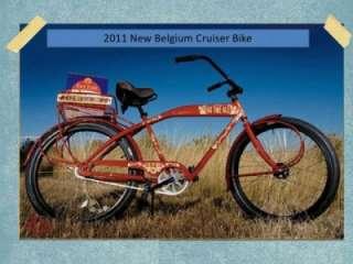 2011 NEW BELGIUM BREWING 20TH ANNIVERSARY CRUISER BIKE NEW FAT TIRE