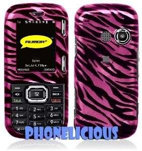 Fit LG Cosmos Verizon Case Phone Cover PINK ZEBRA skin