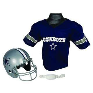 Franklin Sports NFL Cowboys Helmet/Jersey Set.Opens in a new window
