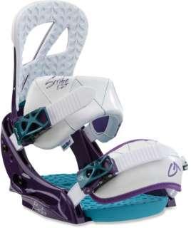2011 NIB BURTON SCRIBE EST WOMENS SNOWBOARD BINDINGS M Purple