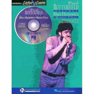 Paul Butterfield   Blues Harmonica Master Class Book/CD Pack [With CD