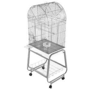 701 AE Dometop Sun Conures Bird Cage 22x17 Black: Pet Supplies