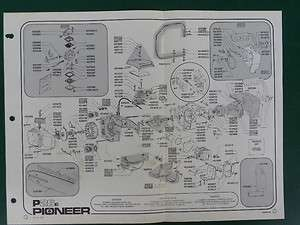 pioneer 01200a chainsaw parts diagram - 300×225