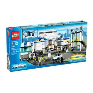 LEGO City   Police Truck: Vehicles, Trains & Remote