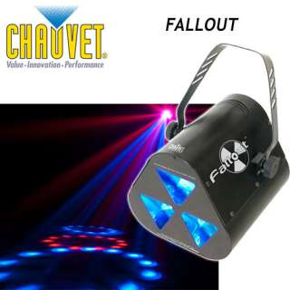 CHAUVET LIGHTING FALLOUT LED RGB DJ EFFECT FALL OUT 781462205720