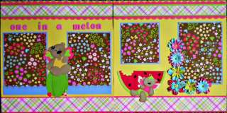 Premade Scrapbook Pages ANY THEMES Tear Bear Paper Piecing 40 Pages