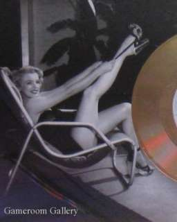 MARILYN MONROE GOLD RECORD FRAMED PHOTO/ARTWORK