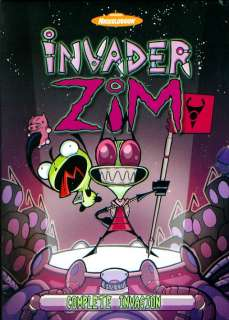 INVADER ZIM COMPLETE TV SERIES DVD BOX SET SEALED OOP