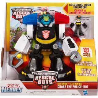 Electronic Figure, Transformers Police Bot Toy, Electronic Action