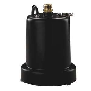 Water Systems 1/4 HP Heavy Duty Submersible Thermoplastic Utility Pump