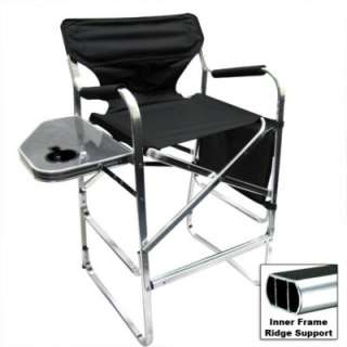 Folding directors chair tall foldable director chair