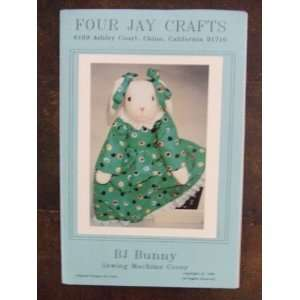 BJ Bunny   Sewing Machine Cover Four Jay Crafts Books