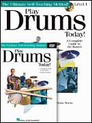 Play Drums Today Beginner Pack Drum Lesson Book CD DVD