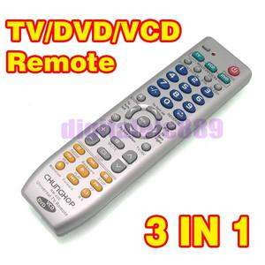 Brand New 3 in1 Universal TV /DVD /VCD Remote Control