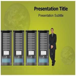 Database Technology Powerpoint Templates   Background for Database
