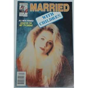 MARRIED WITH CHILDREN #4 COMIC BOOK KELLY BUNDY CHRISTINA APPLEGATE