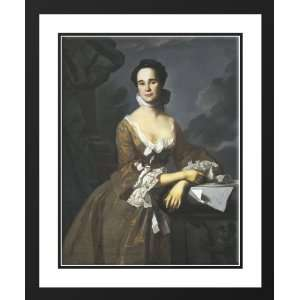 Mrs. Daniel Hubbard (Mary Greene) 25x29 Framed and Double