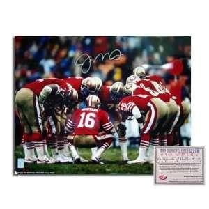 Joe Montana San Francisco 49ers NFL Hand Signed 16x20