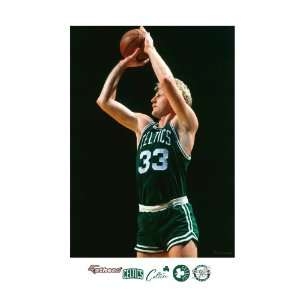 NBA Boston Celtics Larry Bird Mural Wall Graphic