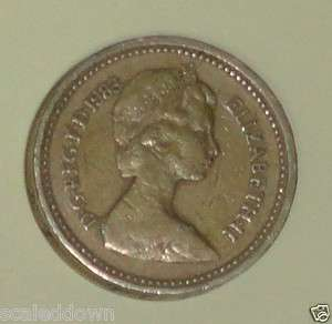 United Kingdom / Great Britain Circulated 1983 coin Queen Elizabeth II