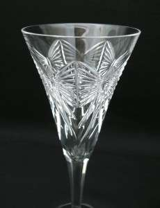 PAIR WATERFORD CRYSTAL CHAMPAGNE FLUTES GLASSES HAPPINESS MILLENNIUM