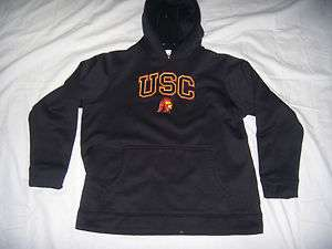 Under Armour USC Southern California Trojans Hoody Black Youth Boys M