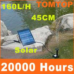 Solar Brushless Water Pump For Pond Rockery Fountain A
