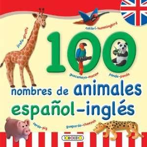 100 nombres de animales Espanol ingles (Primera
