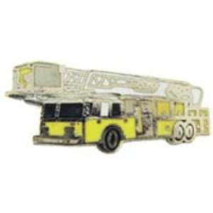 Fire Ladder Truck Pin Yellow 1 Arts, Crafts & Sewing