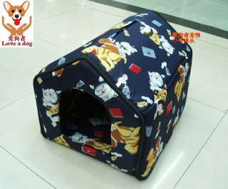 New Indoor Pet/Dog/Cat House/Tent Collapsible MED SIZE