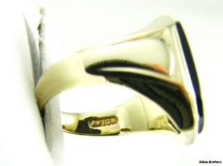 MASONIC Master Mason 10k Yellow Gold Vintage Onyx RING