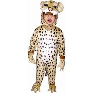 Toddler Cheetah Kids Halloween Costume (Size: 4T): Toys