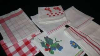 Kitchen Towels Kendall,Cannon,Wilendur,Niagara~Lobster,Fruit,Stripes