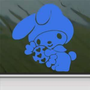 My Melody Blue Decal Hello Kitty Car Truck Window Blue
