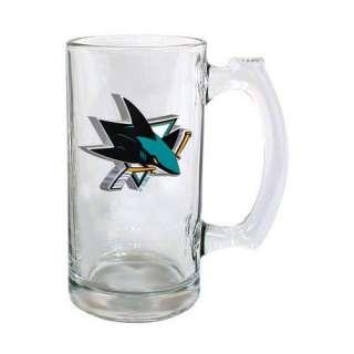 NHL   San Jose Sharks Logo Glass Tankard