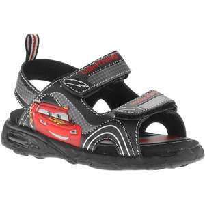 Disney   Toddler Boys Cars Light Up Sandals Shoes