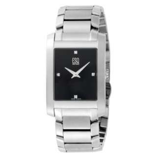 ESQ by Movado Mens 7301299 SWISS Venture Diamond Accented Stainless