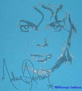 Michael Jackson Invincible rhinestone t shirt