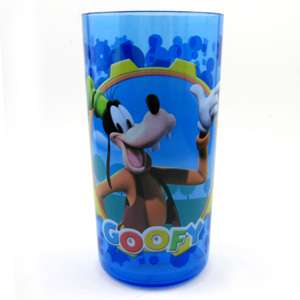 Disney Mickey Mouse Club House Mickey Mouse and Goofy Kids Tall Cup