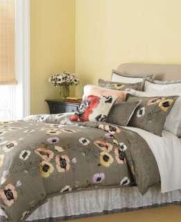 MARTHA STEWART   Pastel Poppies 5p Queen Comforter Set