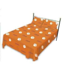 NCAA   Clemson Tigers Sheet Set Twin XL