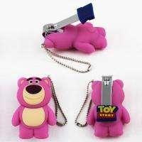 Toy Story Huggin Bear Keychain Nail Clipper Scissors