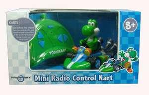 24 Super Mario Yoshi Kart Mini Remote Control Car Wii Nintendo